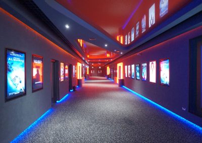 Stretch Ceilings Ltd Cineworld Birmingham NEC
