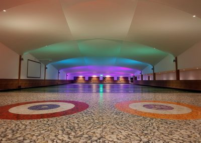 Stretch Ceilings Ltd Leisure Application - Curling