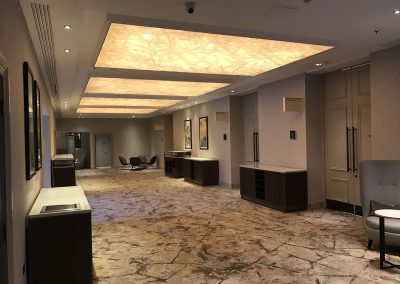 Stretch Ceilings Ltd Hotel Installation