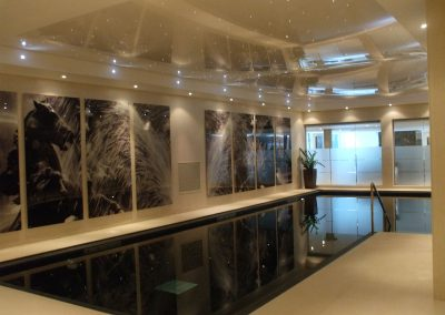 Stretch Ceilings Ltd Home Pool
