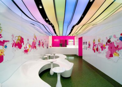 Stretch Ceilings Ltd at the Snog Store