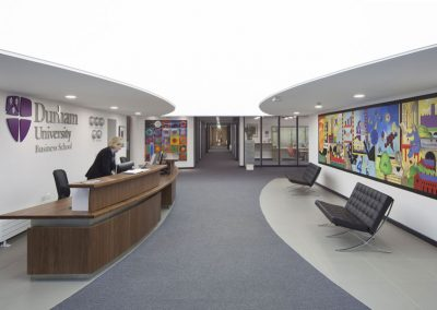 Stretch Ceilings Ltd Lighting Durham University Business School