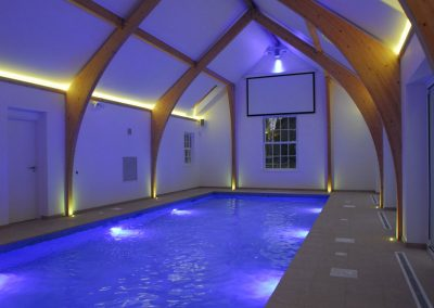 Stretch Ceilings Ltd Church Style Pool Ceiling