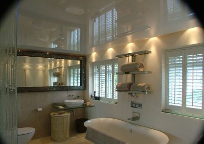 Stretch Ceilings Ltd Domestic Bathroom