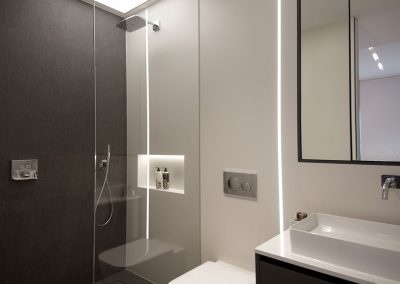 Stretch Ceilings Ltd Domestic Shower Room