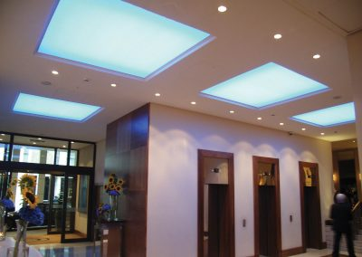 Stretch Ceilings Ltd Lift Lobby Ceiling
