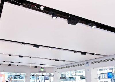 Stretch Ceilings Ltd Retail Installation