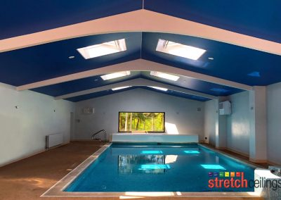 Stretch Ceilings Ltd Home Pool Ceiling
