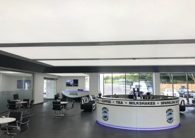 Stretch Ceilings Car Showroom LambhorginiStretch Ceilings Car Showroom BMW Office